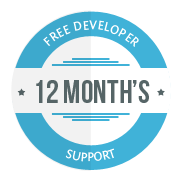 12 Month's Free Developer Support